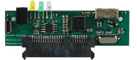 Zdjęcie: Kontroler VIA VL700 SATA-USB 3.0