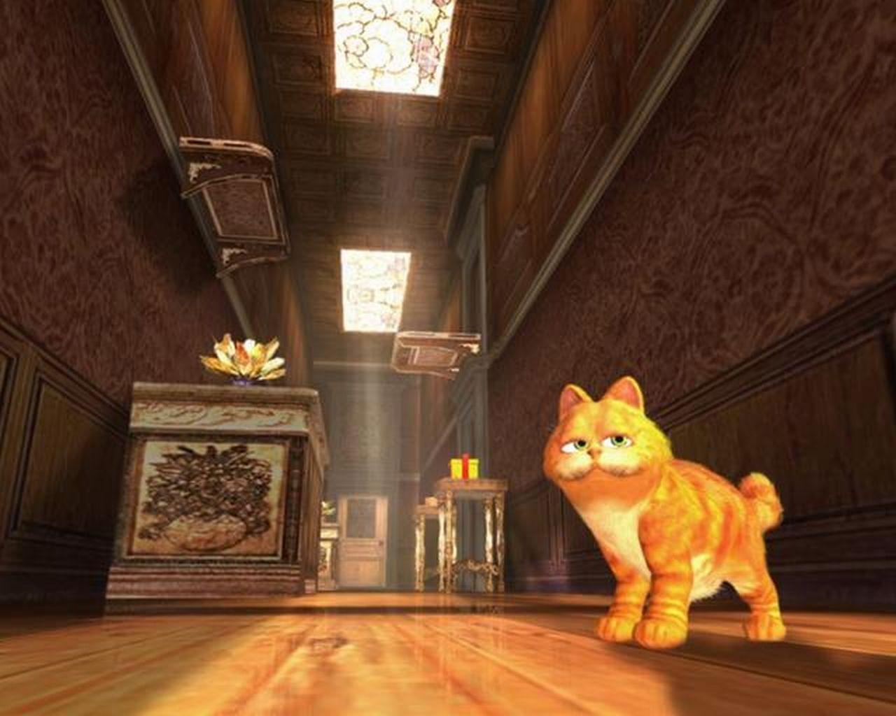 Garfield 2 - mi?o?nik lazanii bohaterem gry