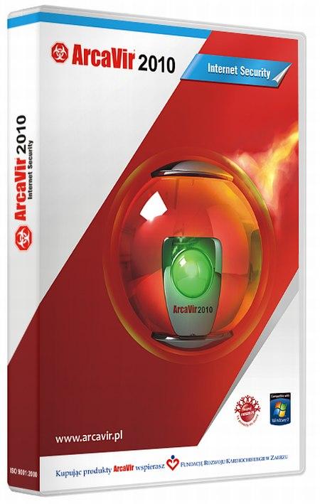 pudełko ArcaVir2010