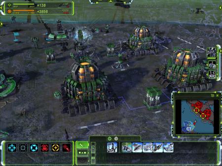 Screen z gry Supreme Commander: W obliczu wroga